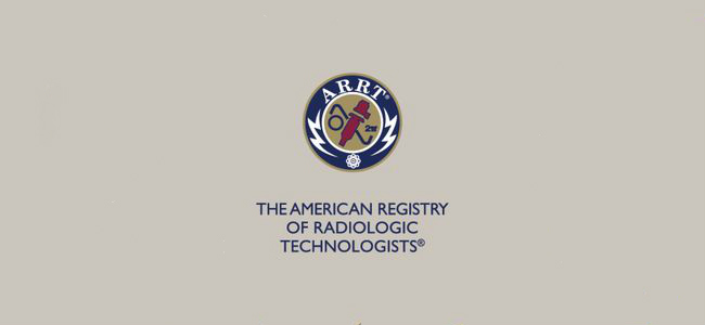 ARRT American Registry of Radiologic Technologists